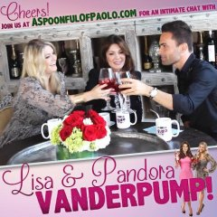 Lisa & Pandora Vanderpump discuss LVP Sangria on A Spoonful of Paolo!