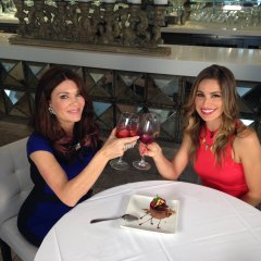 Lisa Vanderpump Sips LVP Sangria with Hollywood Today Live