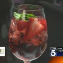 KTLA Sips LVP Sangria with Lisa Vanderpump at Pump!