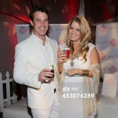 Jason and Pandora Sabo attend the 2013 White Party